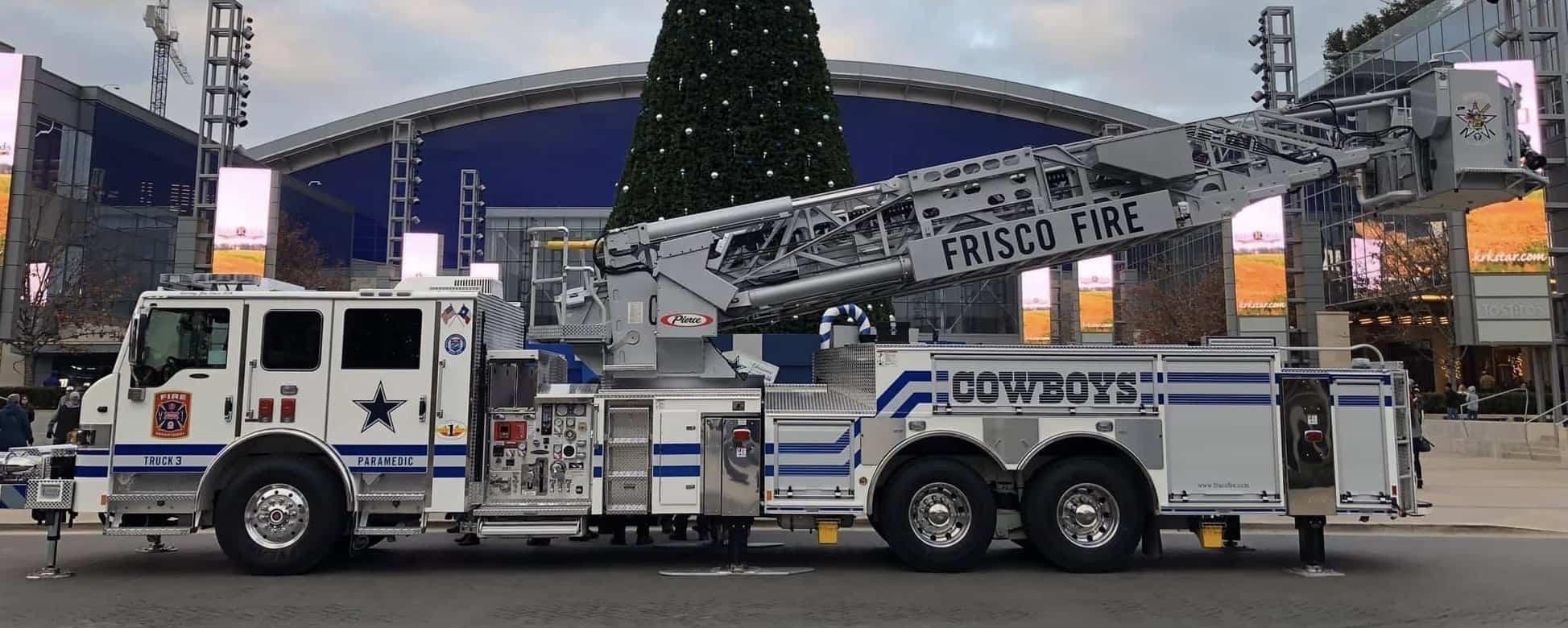 Frisco Fire Department Dallas Cowboys Truck